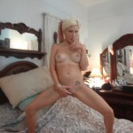Milf in Boots inserts anal beads